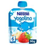 Nestle Yogolino Knijpzakje Appel-Aardbei 6+ mnd
