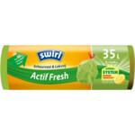 Swirl Vuilniszakken met Trekband Geparfumeerd Actif Fresh 35 liter