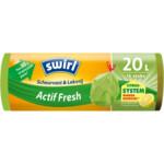 Swirl Vuilniszakken met Trekband Geparfumeerd Actif Fresh 20 liter