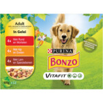 Bonzo Vitafit Multipack Rund - Kip - Lam in Gelei