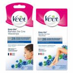 Veet Gevoelige Huid Ontharingsstrips Gezicht, Benen & Lichaam Pakket