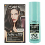 L'Oréal Preference Haarkleuring 03 Brasilia - Donkerbruin + Magic Retouch Uitgroeispray Bruin 75 m Pakket