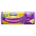 Swirl Pedaalemmerzakken Geparfumeerd Vanille & Lavendel met Trekband 10 liter