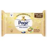 Page Vochtig Toiletpapier Shea Butter