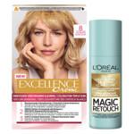 L'Oréal Excellence Haarverf Lichtblond + Uitgroeispray Pakket