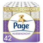 7x Page Toiletpapier Kussenzacht