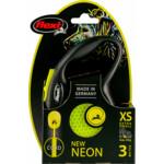 Flexi Rollijn New Neon Cord Geel
