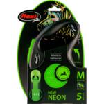 Flexi Rollijn New Neon Tape Groen