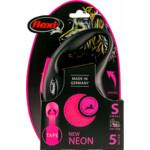 Flexi Rollijn New Neon Tape Roze