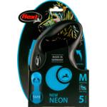 Flexi Rollijn New Neon Tape Blauw