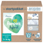 Pampers Harmonie Hybrid Starterspakket met 3 Wasbare Luiers en 25 Toplagen