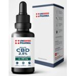 UniSwiss Pharma CBD-Isolate Druppels 2.5%