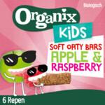 Organix Kids Haverreep Framboos & Appel 3+