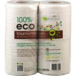 100% Eco Toiletpapier Ongebleekt