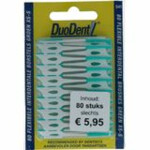 Duodent Flexibele Interdentale Borstels Blauw XS-S