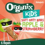 Organix Kids Haverreep Appel & Aardbei 3+