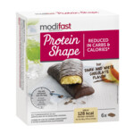 Modifast Snack & Meal Reep Pure & Witte Chocolade  6 x 31 gr
