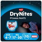 DryNites Absorberende Luierbroekjes Boy 4-7 jaar