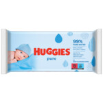 Huggies Billendoekjes Pure 99% Water  56 doekjes