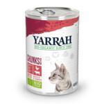 Yarrah Bio Brokjes In Saus Kattenvoer Kip - Rund