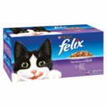 Felix Mix Selectie in Gelei Voordeelpak  44 x 100 gr