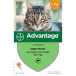 Advantage 40 Anti-vlo Kat tot 4 kg