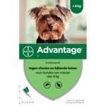 Advantage 40 Anti-vlo Hond tot 4 kg
