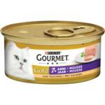 Gourmet Gold Senior Mousse Kalkoen  85 gr