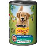 Bonzo Vitafit Senior in Gelei Vlees - Groenten