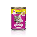 Whiskas Blik Adult Brokjes in Saus Kip