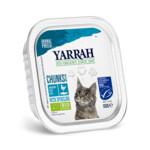 Yarrah Bio Kuipje Brokjes Kattenvoer Kip - Haring