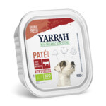 Yarrah Bio Pate in Blik Hondenvoer  Rund & Spirulina