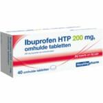Healthypharm Ibuprofen 200mg   40 tabletten