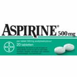 Aspirine 500 mg