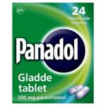 Panadol Gladde Tablet 500 mg  24 tabletten
