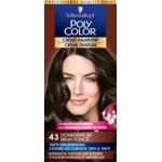 Poly Color Créme Permanente Haarverf 43 Donkerbruin