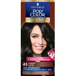 Poly Color Créme Permanente Haarverf 45 Zwart