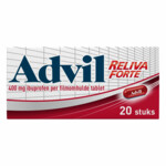 Advil Reliva Forte Oval Tabs 400 mg
