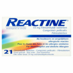 Reactine 10mg
