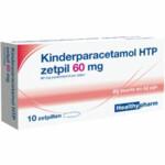 Healthypharm Paracetamol Kind 60 mg  10 zetpillen