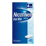 Nicotinell Kauwgom Cool Mint 4 mg