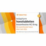 Leidapharm Hoesttabletten Broomhexine HCI 8 mg