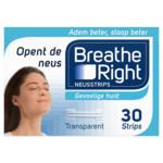 Breathe Right Neusstrips   30 stuks