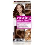L'Oréal Casting Crème Gloss Haarkleuring 535 - Chocolate Licht Goud Mahoniebruin