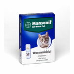 Mansonil Kat All Worm   4 tabletten