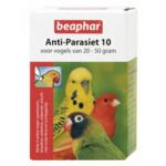 Beaphar Anti-Parasiet 10 Vogel  2 pipetten
