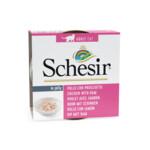 Schesir Blik Jelly Kip Filets & Ham