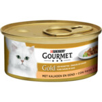 Gourmet Gold Fijne Hapjes Kalkoen - eend  85 gr