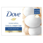 Dove Wastablet Beauty Cream  4 x 100 g