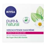 Nivea Pure & Natural Dagcreme Droge Gevoelige Huid